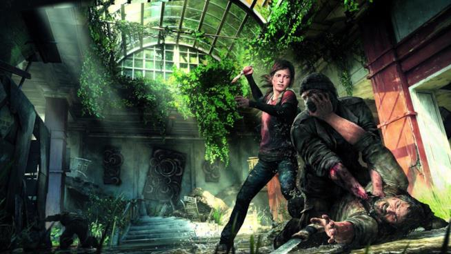 Joel e Ellie in una keyart ufficiale di The Last of Us