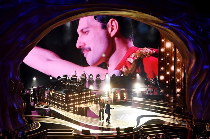 Esibizione dei Queen agli Oscar 2019