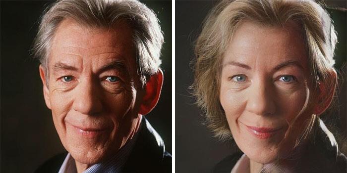 Da uomo a donna: la trasformazione di Ian McKellen