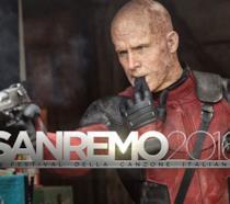 Deadpool prepara un nuovo video per Sanremo