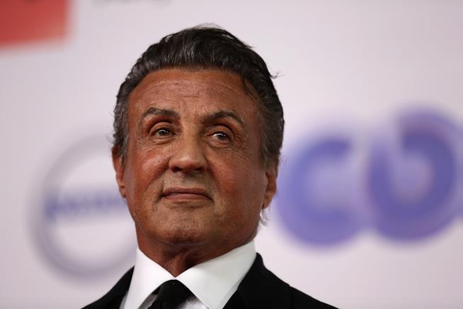 Sylvester Stallone celebra la laurea della figlia