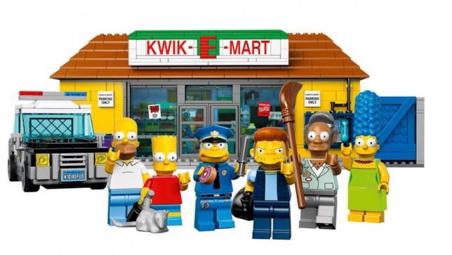 Il Jet Market in versione Lego dei Simpson