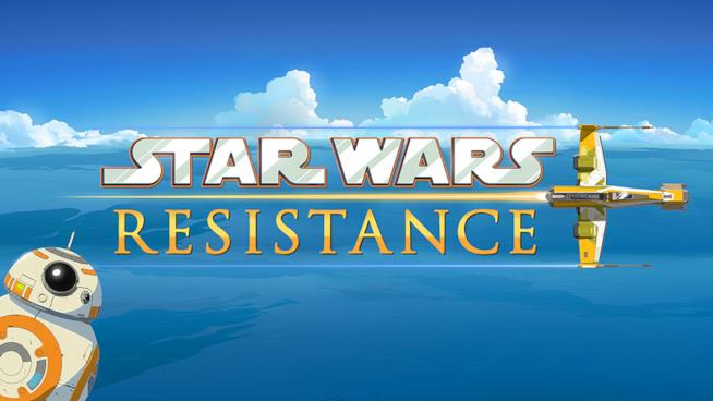 Star Wars Resistance di Disney