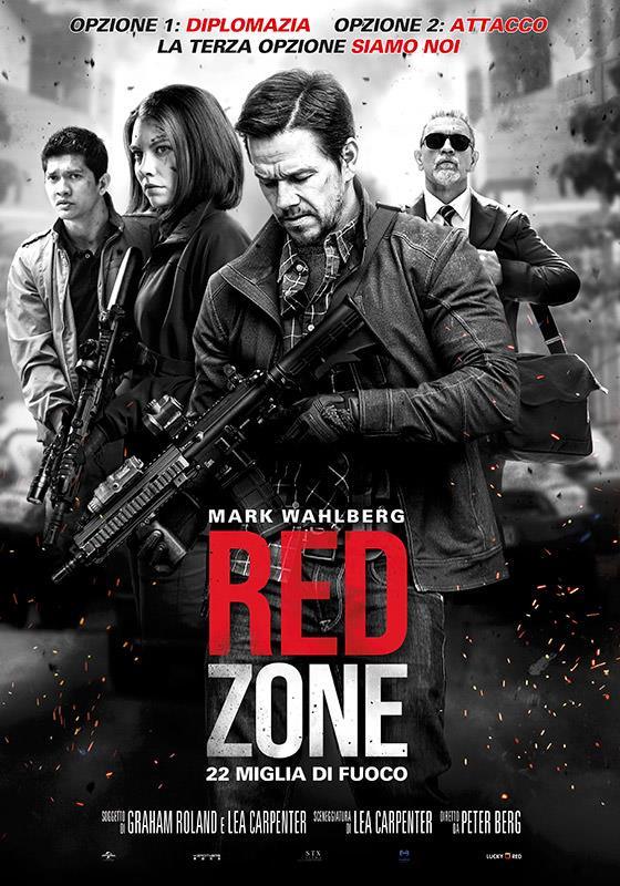Il poster ufficiale di Red Zone – 22 miglia di fuoco