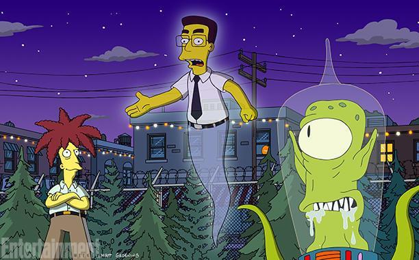 Frank Grimes nell'episodio 600 e I Simpson