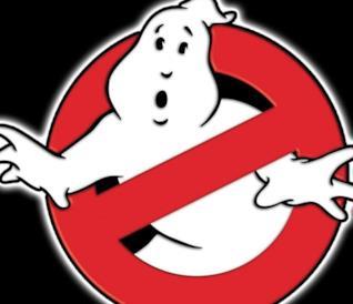 Il logo di Ghostbusters