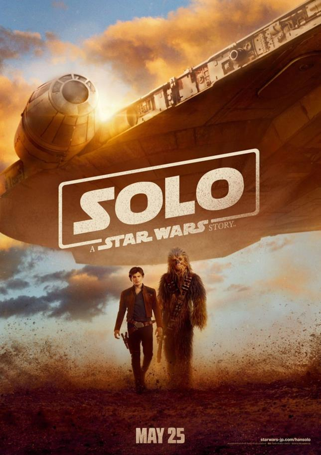Poster di Solo: A Star Wars Story