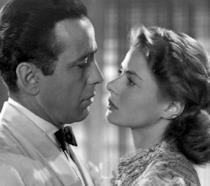 Rick Blaine e Ilsa Lund Laszlo nel film Casablanca
