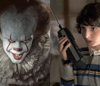 Pennywise di IT e Mike di Stranger Things