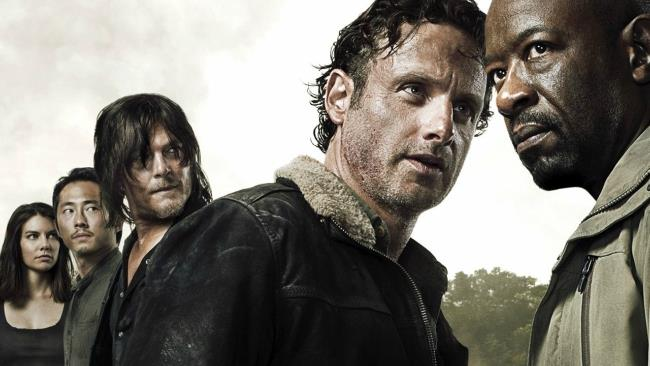 I protagonisti di The Walking Dead 6