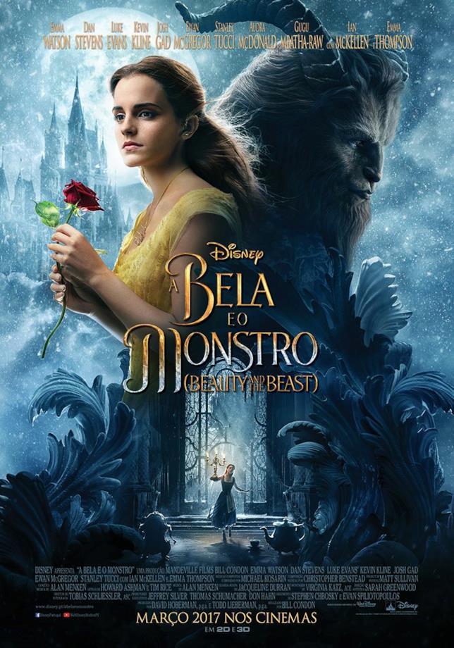 Il nuovo poster interazionale de La Bella e la Bestia