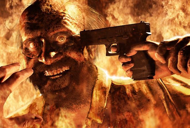 Il capofamiglia del clan Baker, nemici di Resident Evil 7