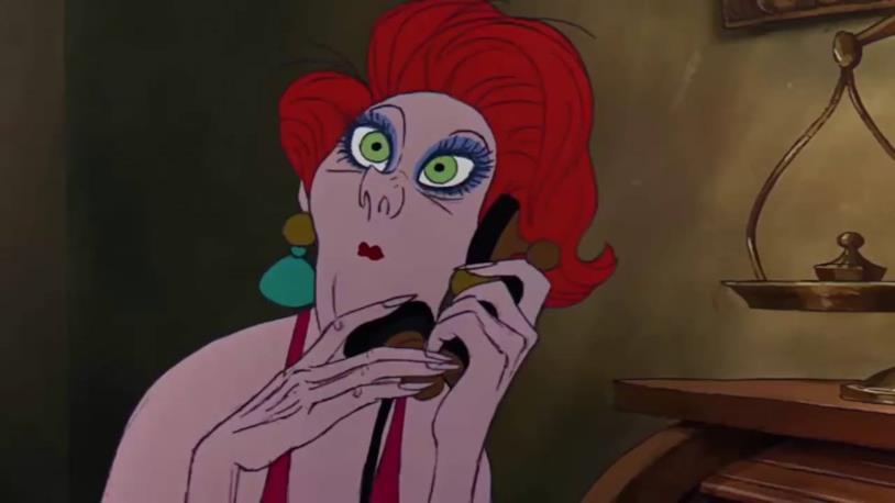 Madame Medusa in Le avventure di Bianca e Bernie