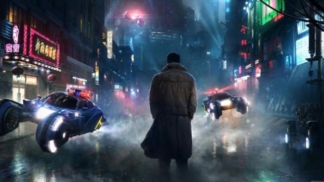 Una scena del visionario Blade Runner 2049