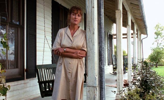 Francesca in una scena de I ponti di Madison County