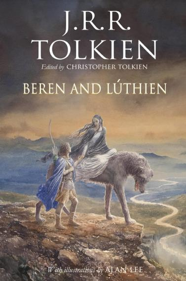 Beren and Luthien la copertina del volume in uscita a maggio 2017