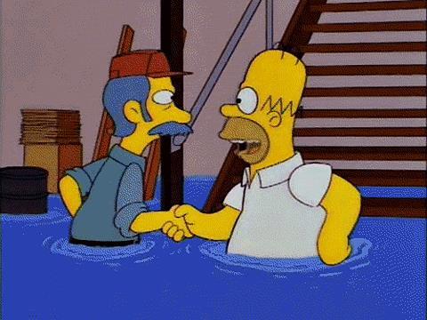 Homer e la stretta segreta dei Tagliapietre