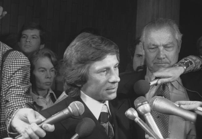 Roman Polanski in primo piano