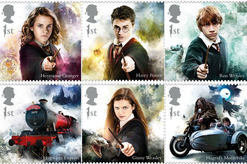 Royal Mail Celebra Harry Potter Con Una Nuova Collezione Di