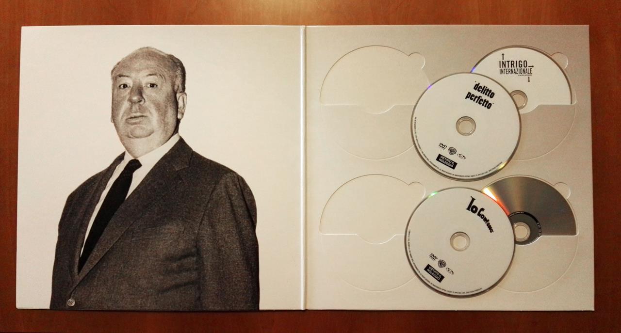 I dischi dentro la Alfred Hitchcock Vinyl Edition