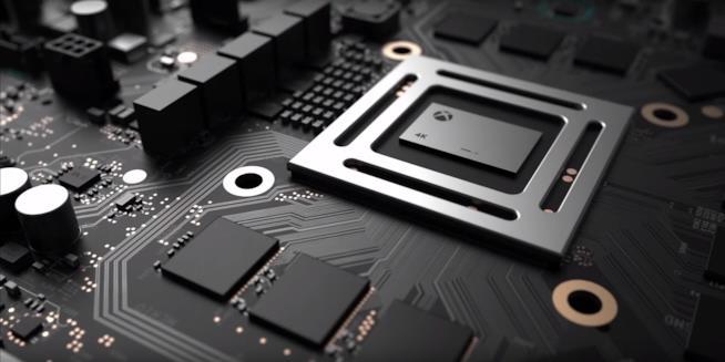 La componentistica di Xbox Scorpio vista nel trailer di annuncio