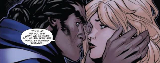 Cloak and Dagger innamorari nel fumetto