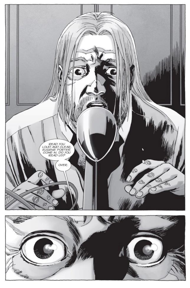 The Walking Dead: il contatto via radio di Eugene, nel fumetto