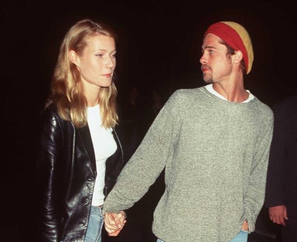 Brad Pitt e Gwyneth Paltrow nel 1995