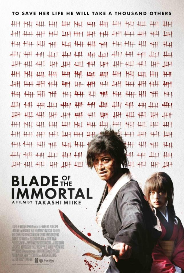 Il poster ufficiale di Blade of the Immortal