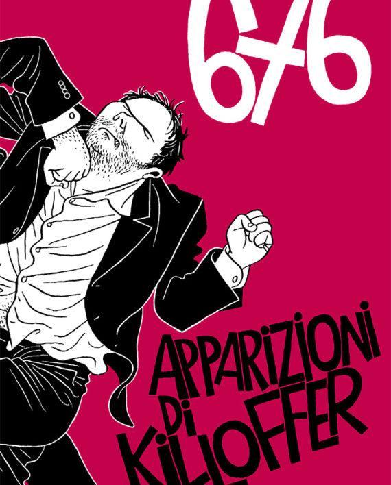 La cover del volume 676 apparizioni di Killoffer