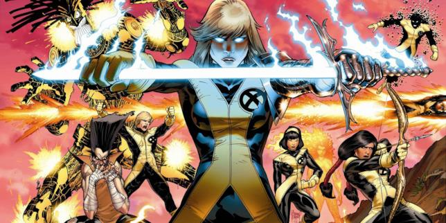 I Nuovi Mutanti tratti dal fumetto Marvel Comics