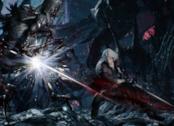 Dante combatte alcuni demoni in Devil May Cry 5