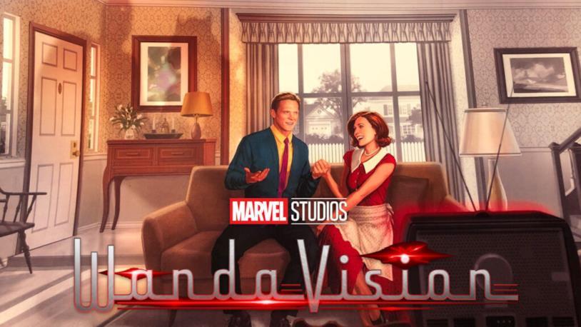 Il poster promozionale di WandaVision mostrato alla D23 Expo 2019