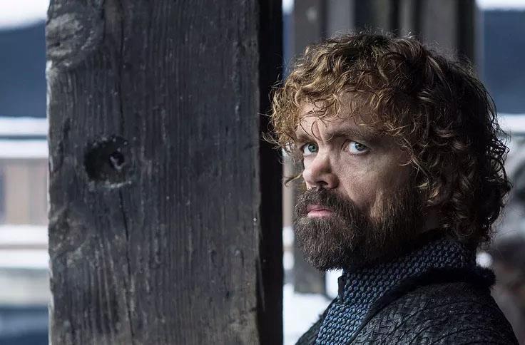 Peter Dinklage in Game of Thrones 8x01