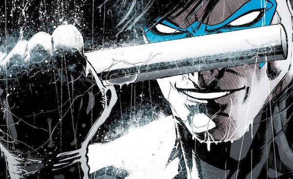 Nightwing pronto al combattimento