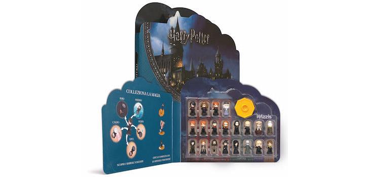 Raccoglitore della collezione Wizzis di Harry Potter distribuita da Esselunga