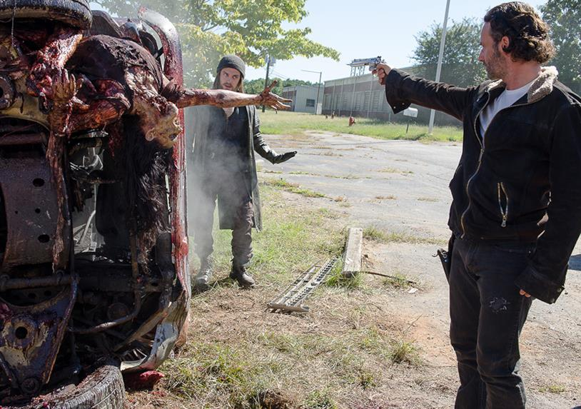 The Walking Dead: episodio 6x11