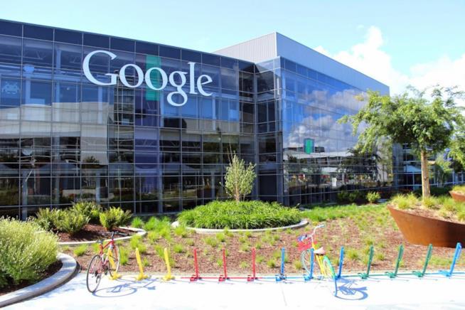 Il quartier generale di Google, foto ufficiale