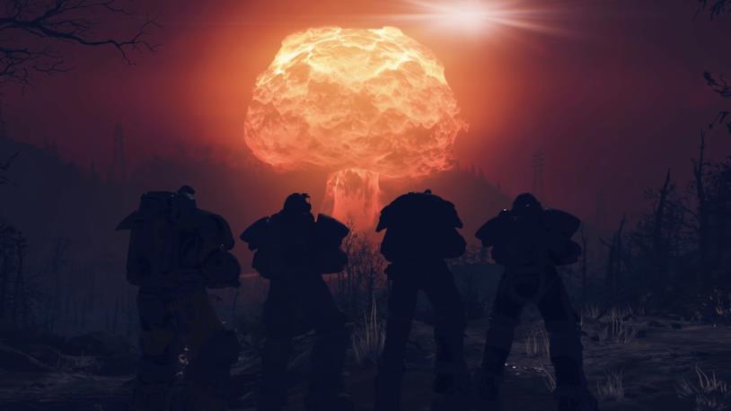Una bomba nucleare in Fallout 76