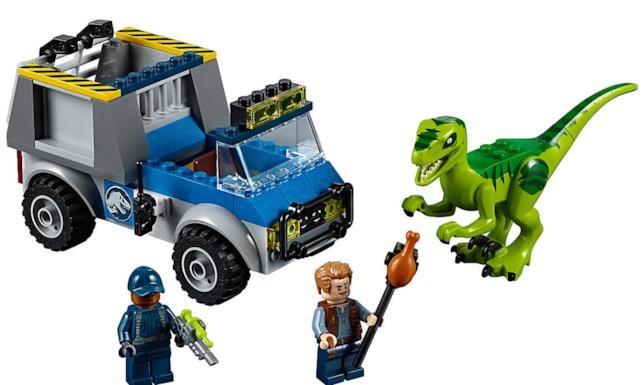 Dettagli del set LEGO Camion per il soccorso di Velociraptor