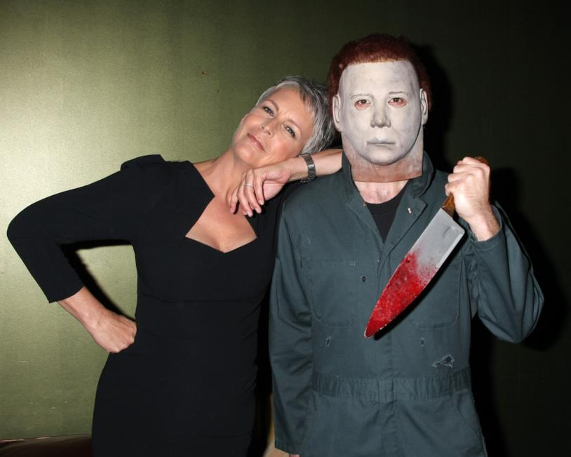 Jamie Lee Curtis e Michael Myers