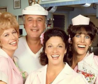 Il cast della sitcom Alice
