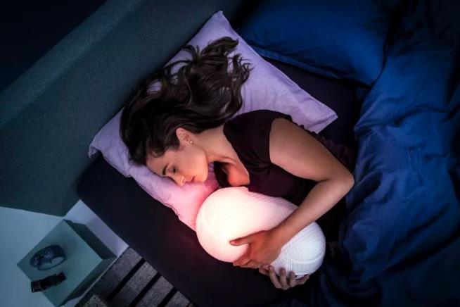 Il cuscino Somnox, uno dei gadget più bizzarri esposti a Berlino