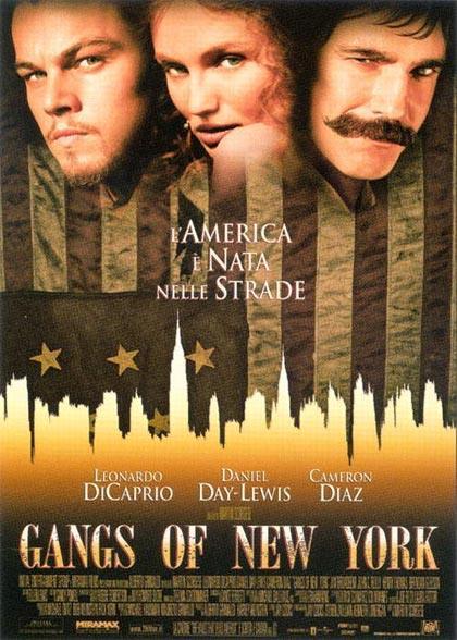 Gangs of News York, film di Martin Scorsese