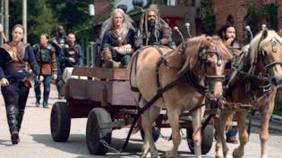 The Walking Dead 9x13: novità sul simbolo rosso in un'anteprima