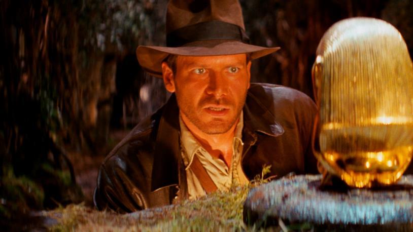 Una scena dal film Indiana Jones