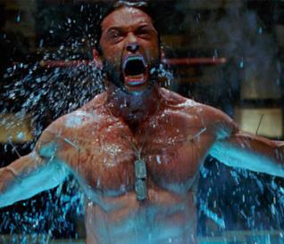 Hugh Jackman interprete di Wolverine