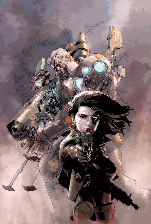 Cable e Domino, due membri di X-Force