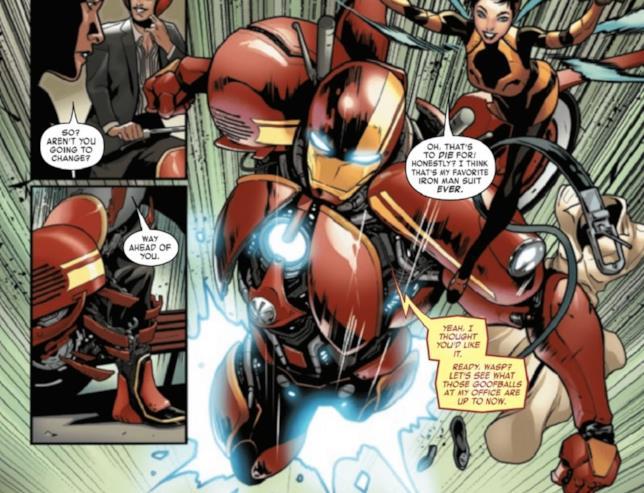 Iron Man #4 di Slott e Schiti