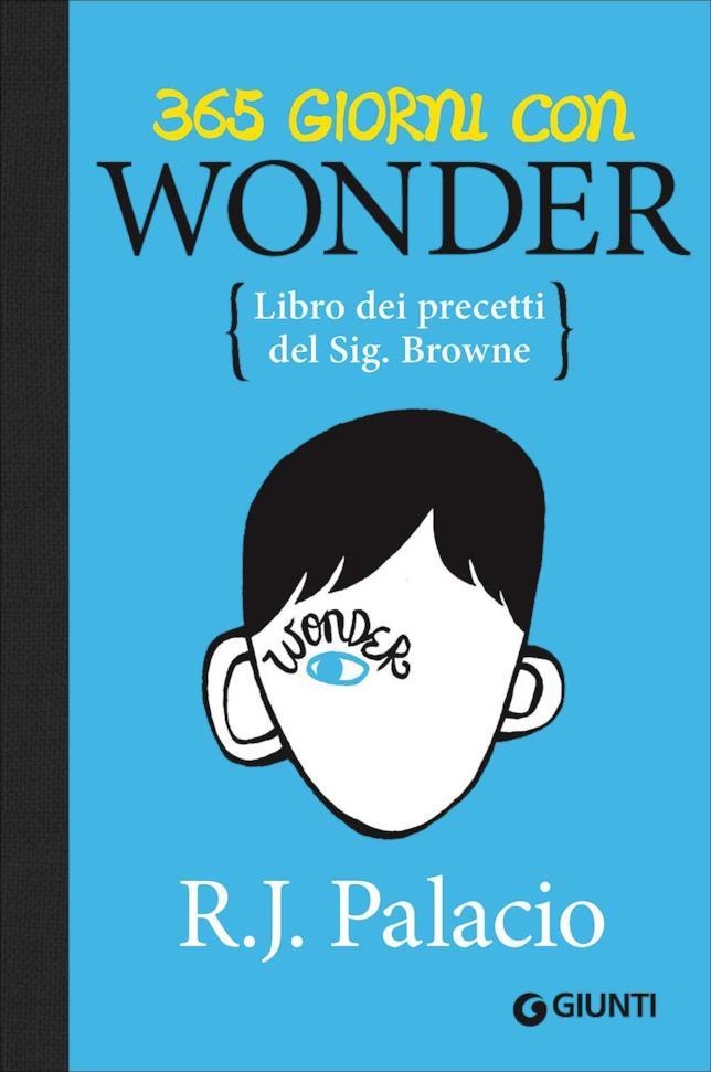 La copertina blu di Wonder